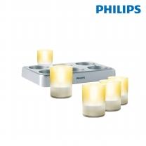 필립스 LED캔들 6구티라이트 69126 무드등 장식등