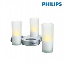 필립스 LED캔들 3구티라이트 69108 무드등 장식등