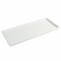 [바보사랑]욕실 인테리어 소품 세라믹 스퀘어 욕실 트레이 대형