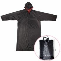 [바보사랑]블랙 레인코트 우비/등산우의 성인우의 비옷 우의코트