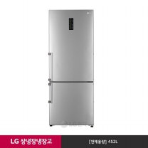 [1~2주 배송지연]LG 상냉장 냉장고 M458SW