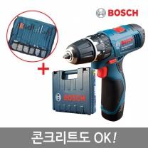 [보쉬]10.8V 리튬충전전동드릴 GSB 1080-2LI(1B)/콘크리트OK!/액세사리100P포함