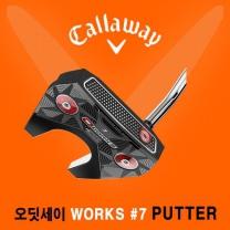 캘러웨이 정품 오디세이 오웍스 버사 7번 퍼터