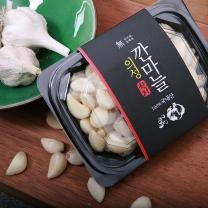 [갈릭팩토리]씨알이 단단한 의성 깐마늘 200g x 4팩