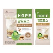 [CJ직배송]HOPE 발효효소 밸런스밀 화이트(30gX14포)