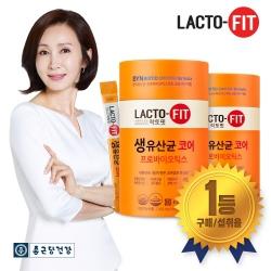 [종근당건강] 락토핏 생유산균 코어 프롤린유산균 2통 (4개월분)