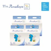 페넬로페 씬씬씬 에어슬림 팬티기저귀 대형 28pX4팩(남아용)