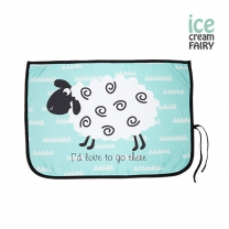 [아이스크림페어리] 3중암막 자석형 차량용햇빛가리개_양 민트
