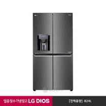 LG DIOS 얼음 정수기 냉장고 J821SB35
