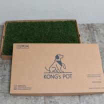 [바보사랑]콩스팟 반려동물 실내잔디화장실 중형(39x64cm) - 프레시
