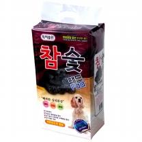와우 한빛 참숯패드(향균패드) 50매 /강아지배변패드