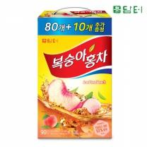 담터 복숭아홍차 90T(80T+10T기획)