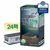 [연세우유]검은참깨두유 200ml x 24팩