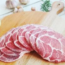 진공포장 돼지고기 목살(구이용) 500g