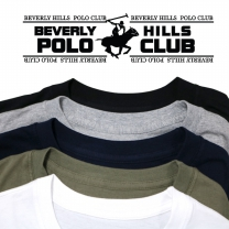 [비버리힐즈폴로클럽]남녀공용 베이직 순면 30수 티셔츠 5종 택1 BPR-0191