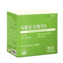 뉴트리코어 식물성오메가3 38.4g(320mg*120캡슐)