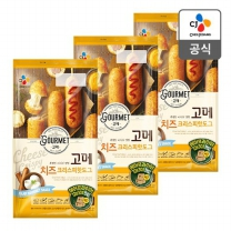[CJ직배송]고메 치즈크리스피핫도그425gX3개
