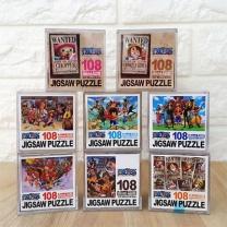 [바보사랑]원피스 미니 직소 퍼즐(108피스 쵸파 루피 큐브)