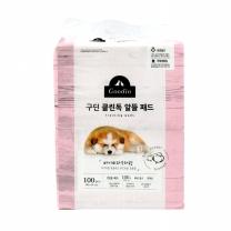 구딘 클린독 알뜰 애견패드 100매