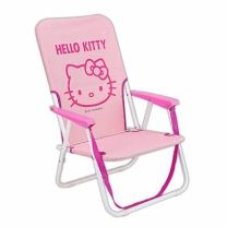 [바보사랑]헬로키티 접이식 비치 의자