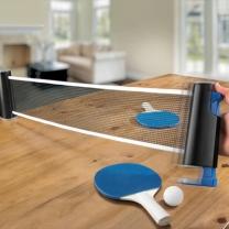 [바보사랑]ENJOY TABLE TENNIS 원터치 간이네트 탁구용품 set