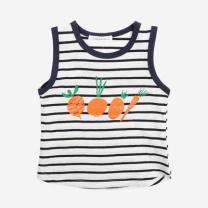 [바보사랑]캐럿 스트라이프 민소매 티셔츠 T183