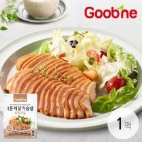 굽네 오리지널 훈제 닭가슴살 슬라이스 100g,1팩_AG01