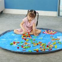 [바보사랑]간편정리 장난감 놀이매트 토이백