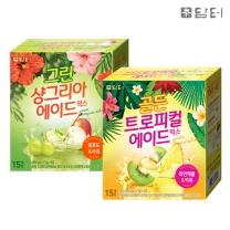 담터 골든트로피컬에이드믹스 30T(15Tx2개)