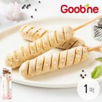 굽네 닭가슴살 후랑크 꼬치 블랙페퍼 70g 1팩_HI01