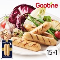 굽네 닭가슴살 그릴후랑크 마늘 120g 15+1팩_AL02