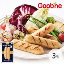 굽네 닭가슴살 그릴후랑크 마늘 120g 3팩_JA55