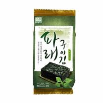 [자연두레] 파래구이김도시락김 1봉