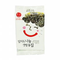 [자연두레] 임자도나눔갯벌돌김(도시락용김) 3봉