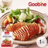 굽네 스파이시 훈제 닭가슴살 슬라이스 100g,1팩_AH01