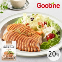 굽네 오리지널 훈제 닭가슴살 100g,20팩_AG05