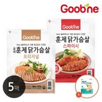 굽네 오리지널 훈제 닭가슴살 100g,10팩_AG04