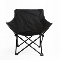 아웃도어 접이식 블랙 캠핑 의자 1개