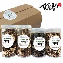 [산들목이] 버섯 선물세트 240g (표고채50g*2, 표고칩60g, 건목이80g)