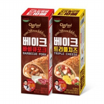 [롯데푸드] 쉐푸드 베이크 120g 2종 (치즈,바베큐중 선택)