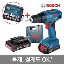 [보쉬]신형18V 충전전동드릴 GSR 1800-LI 2B(1.5AH+2.0AH)/25단토르크조절/2단속도조