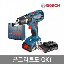 보쉬 강력해진18V 리튬이온충전전동드릴 GSB 18-2-LI Plus(2B)/콘크리트OK/13mm척탑재