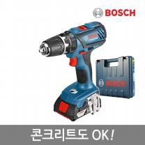 보쉬 강력해진18V 리튬이온충전전동드릴 GSB 18-2-LI Plus(1B)/콘크리트OK/13mm척탑재