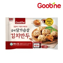 굽네 닭가슴살 김치만두 (파우치형) 180g 1팩_HP01