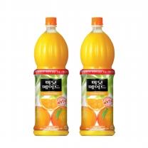 [무료배송]미닛메이드 오렌지 1.5L PET 12개