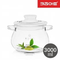 키친아트 라팔 내열 유리포트(주전자) 3000ml