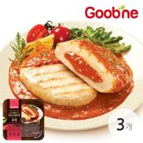 굽네 로제 치킨스테이크 170g 3팩_HN02