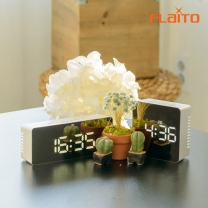 플라이토 거울 LED 탁상시계