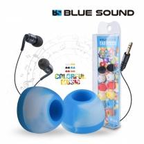 블루사운드 실리콘 이어피스 이어팁 이어폰캡 6색세트