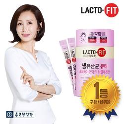 [종근당건강] 락토핏 생 유산균 뷰티 1통 / 저분자콜라겐